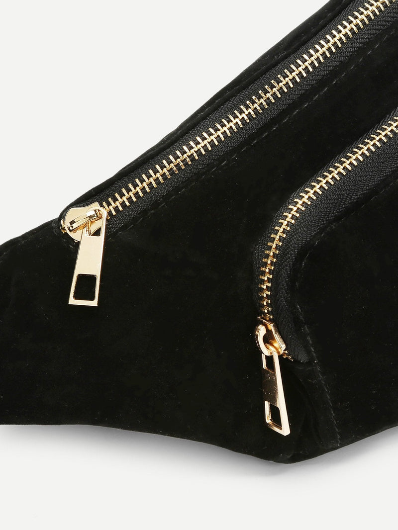 Melody Front Zipper Bum Bag