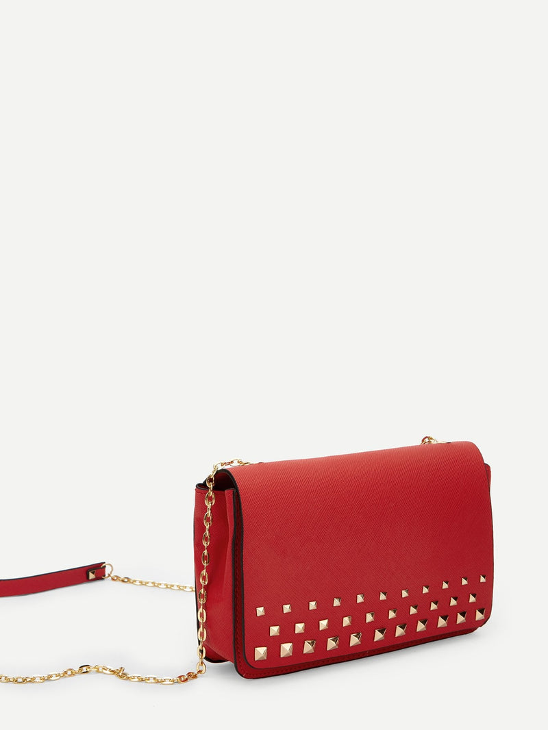 Lana Cross Body Bag (Red)