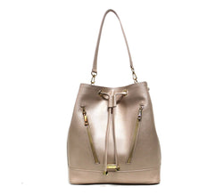 Solange leather Bucket Bag