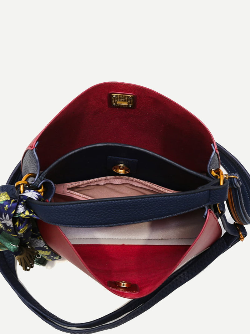 Aurelie Shoulder Bag (Red)