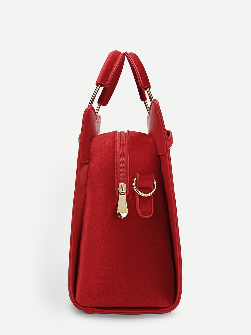 Lisa Satchel (Red)