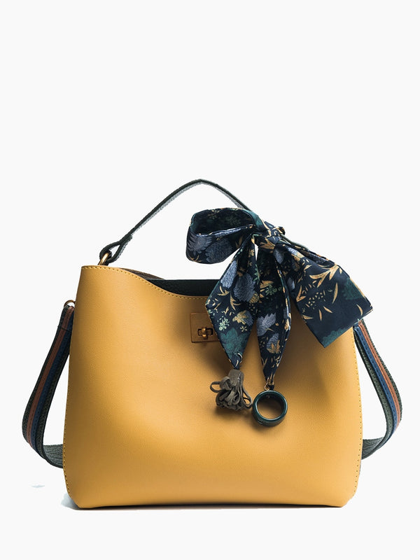 Aurelie Shoulder Bag (Yellow)