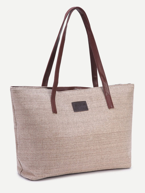 Melody's Everyday Linen Tote Bag