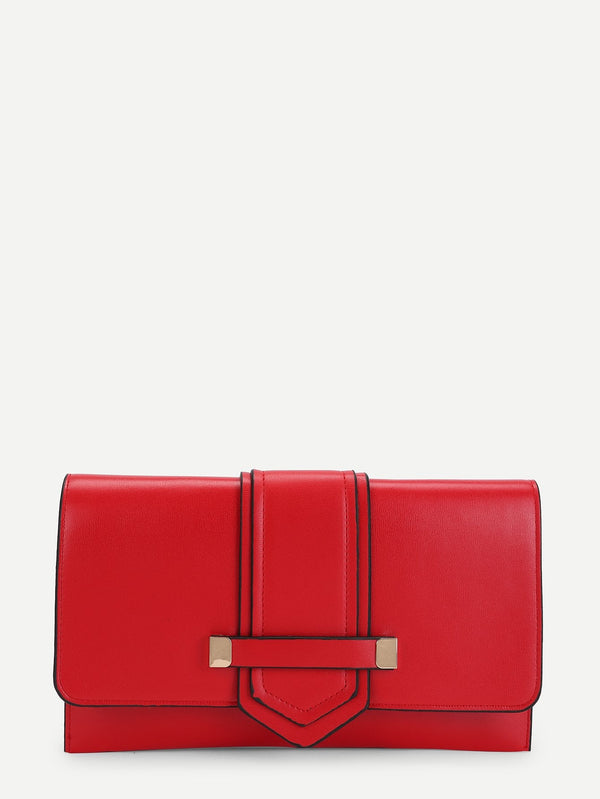 Florence Clutch Bag (Red)