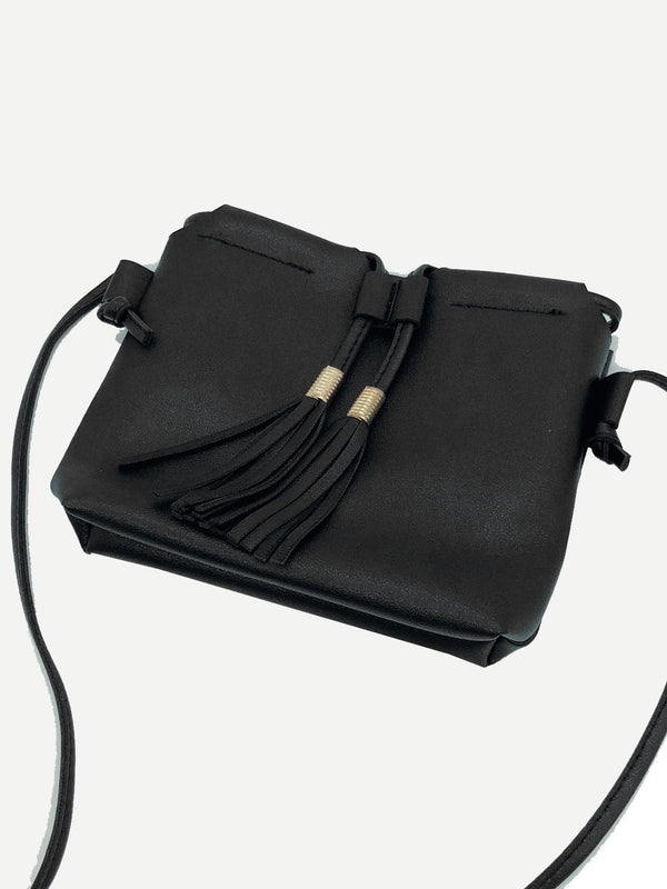Lynette Cross Body Bag (Black)