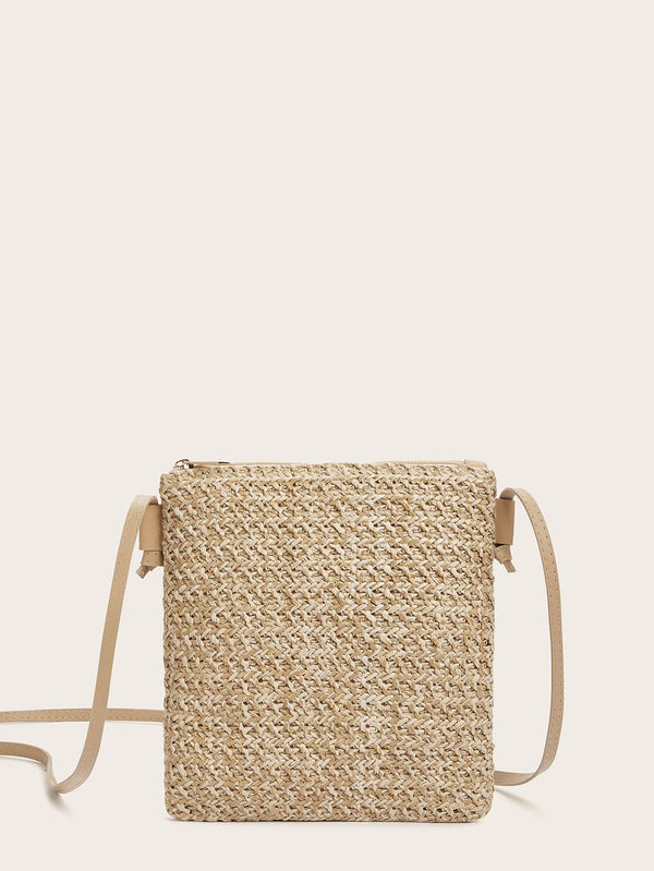Sandy Woven Detail Bag