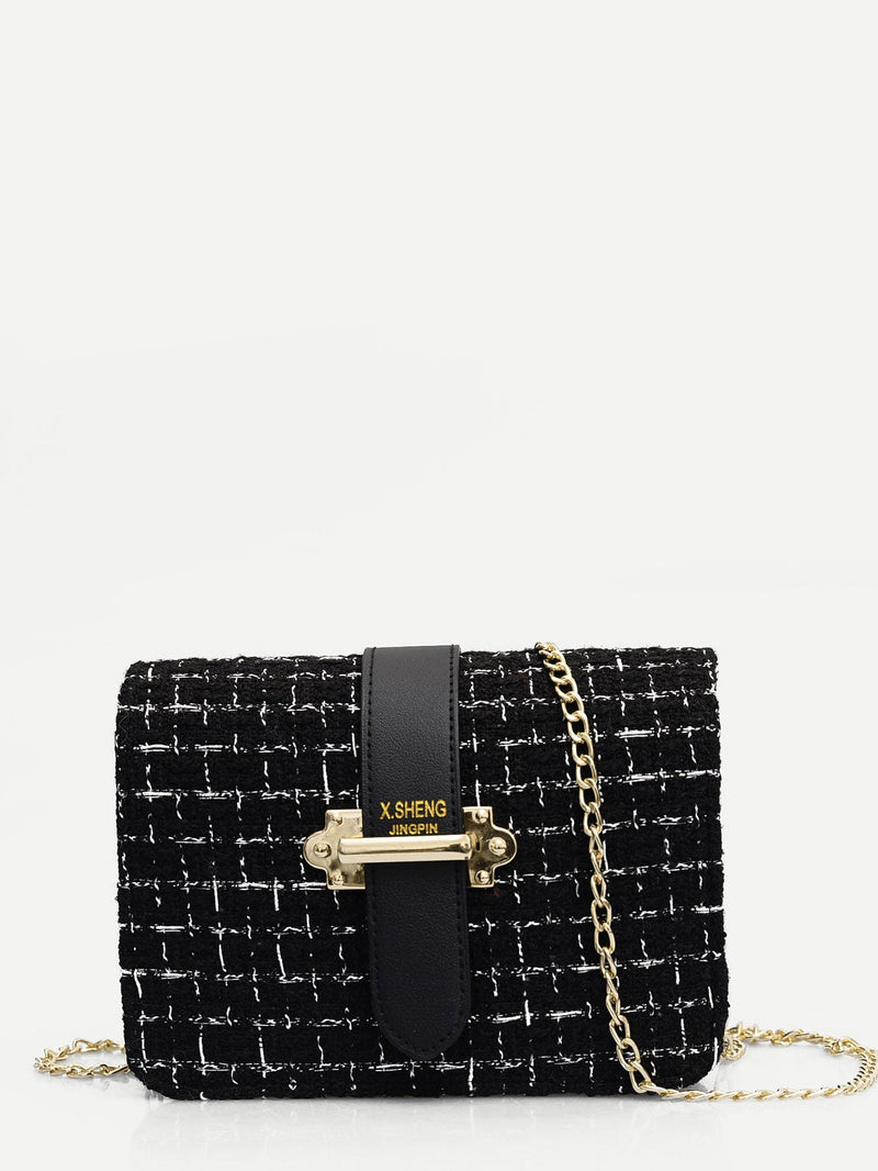 Tina Cross Body Bag (Black)