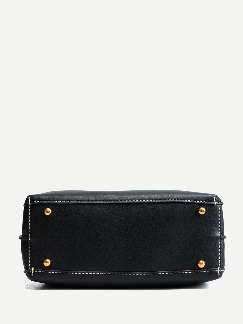 Aurelie Shoulder Bag (Black)