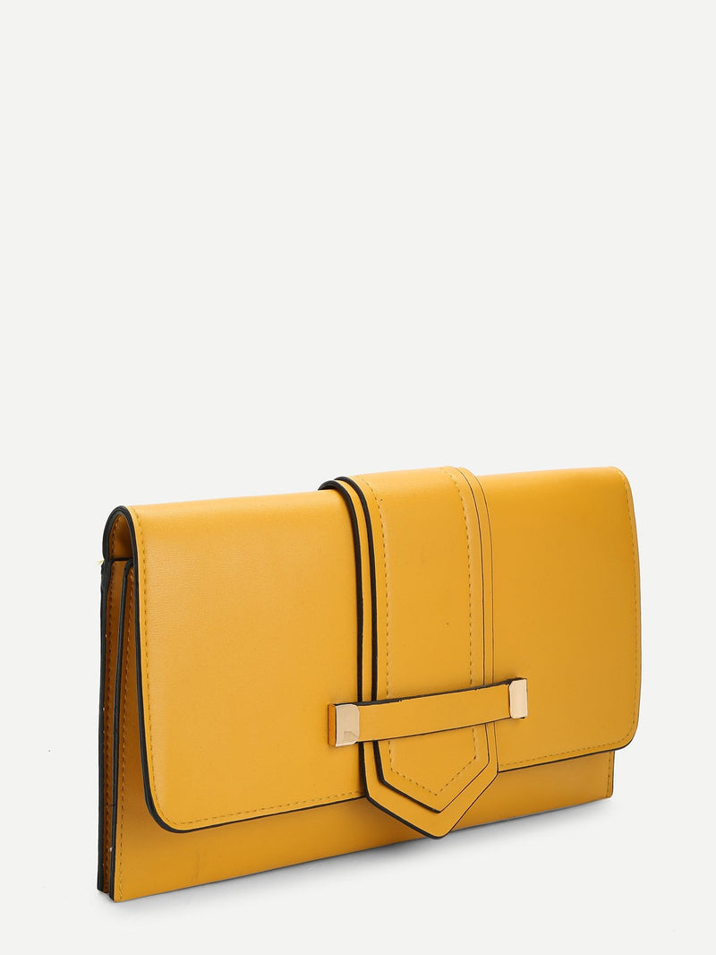 Florence Clutch Bag (Yellow)