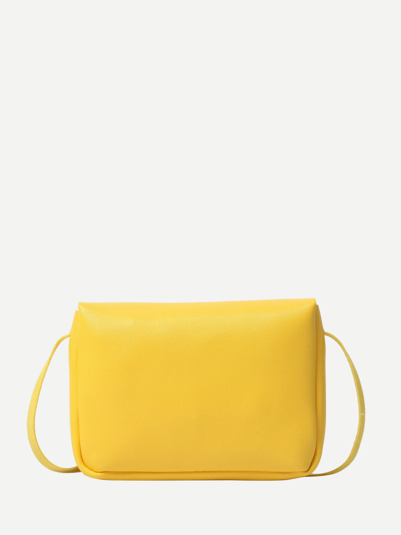 Patricia Shoulder Bag (Yellow)