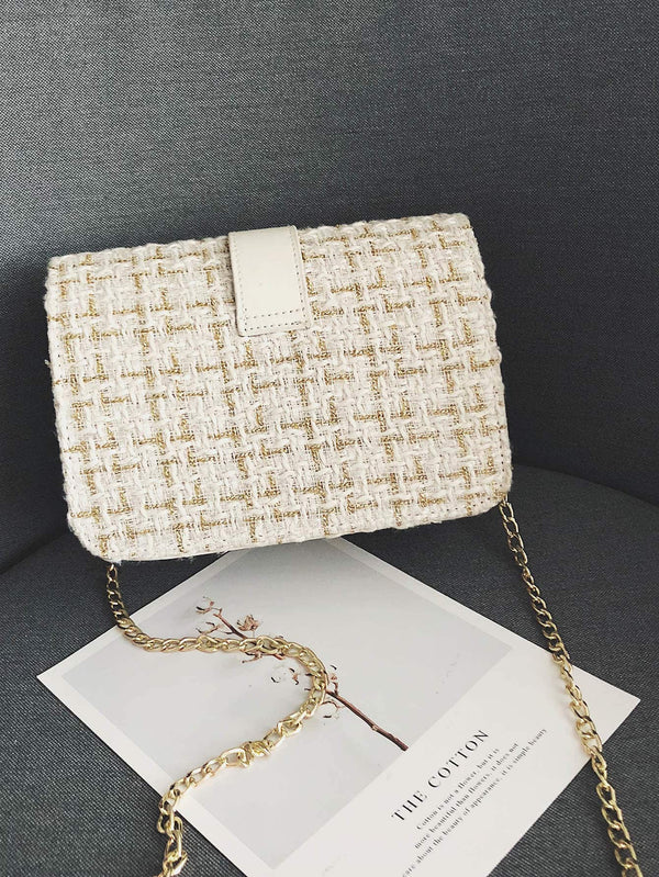 Tina Cross Body Bag (White)