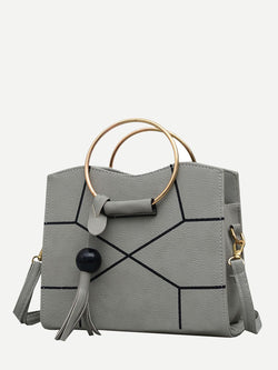 Maya Satchel (Grey)