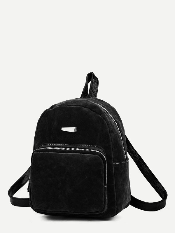 Bernadette Suede Backpack
