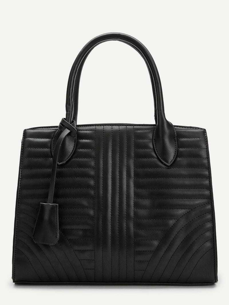 Sarah Leather Everyday Tote Bag