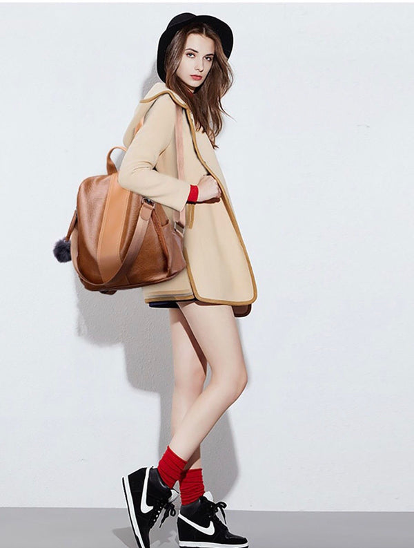 The Aimée Leather Backpack