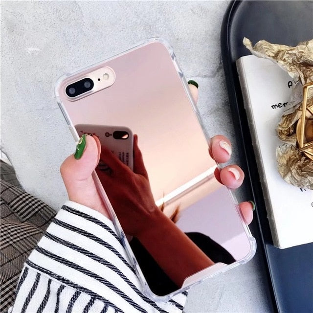LMDS Mirror iPhone and Samsung Shockproof Case