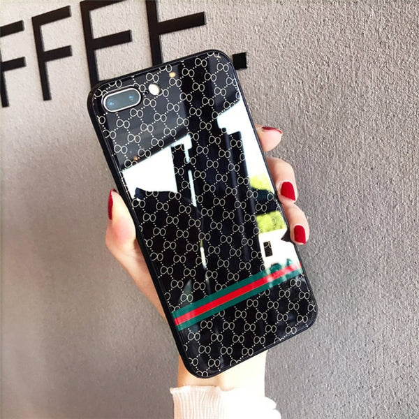 Gucci Tempered Glass Umx iPhone Case