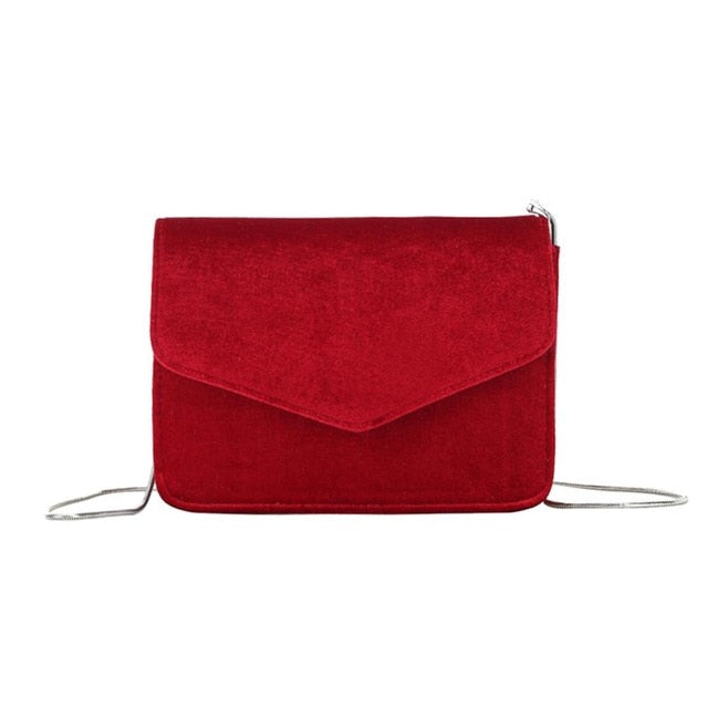 Natasha Velvet Cross Body Bag