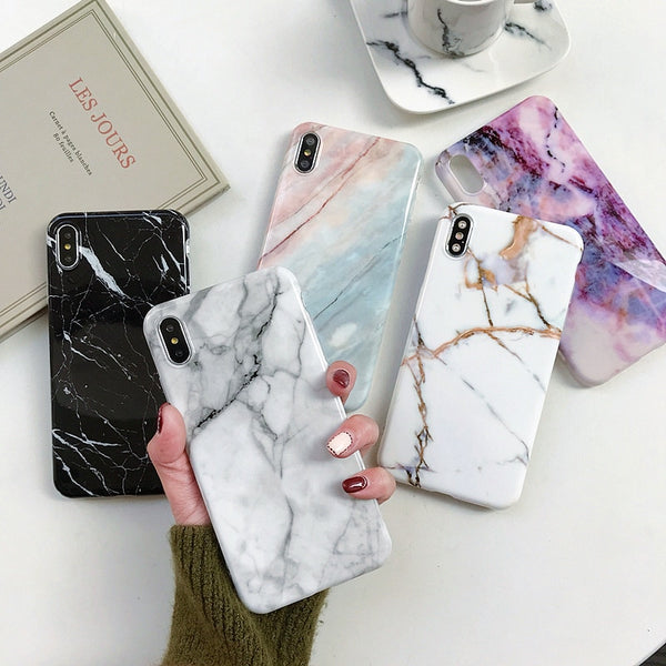 Lmds Marble iPhone XR Case