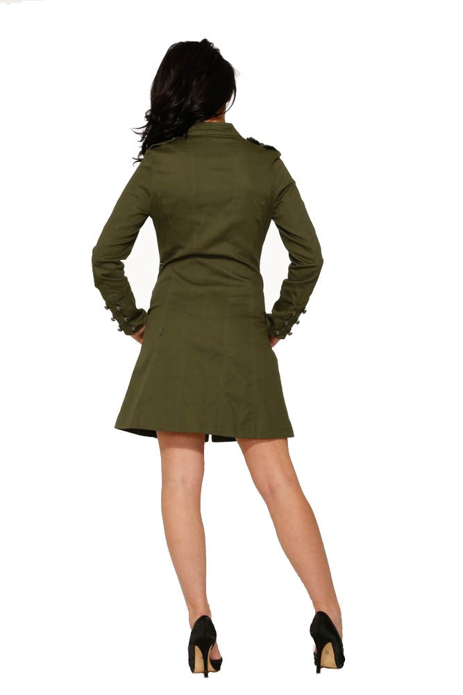 1016 Bellatrix Coat in Green