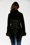 30100 Gloria Jacket in Black Velvet