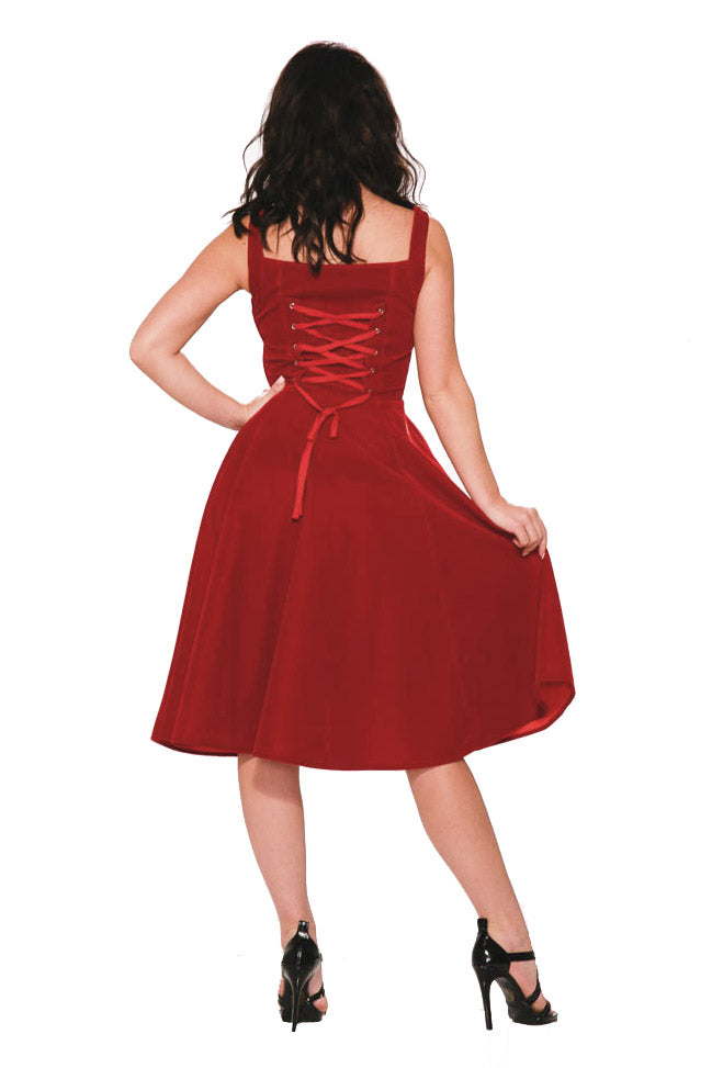 3087 Scarlet Harlot Dress