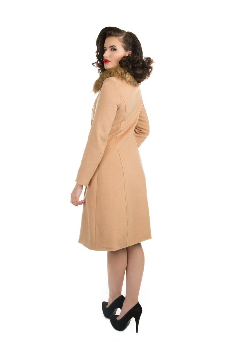 3874 Chrissette Coat in Camel