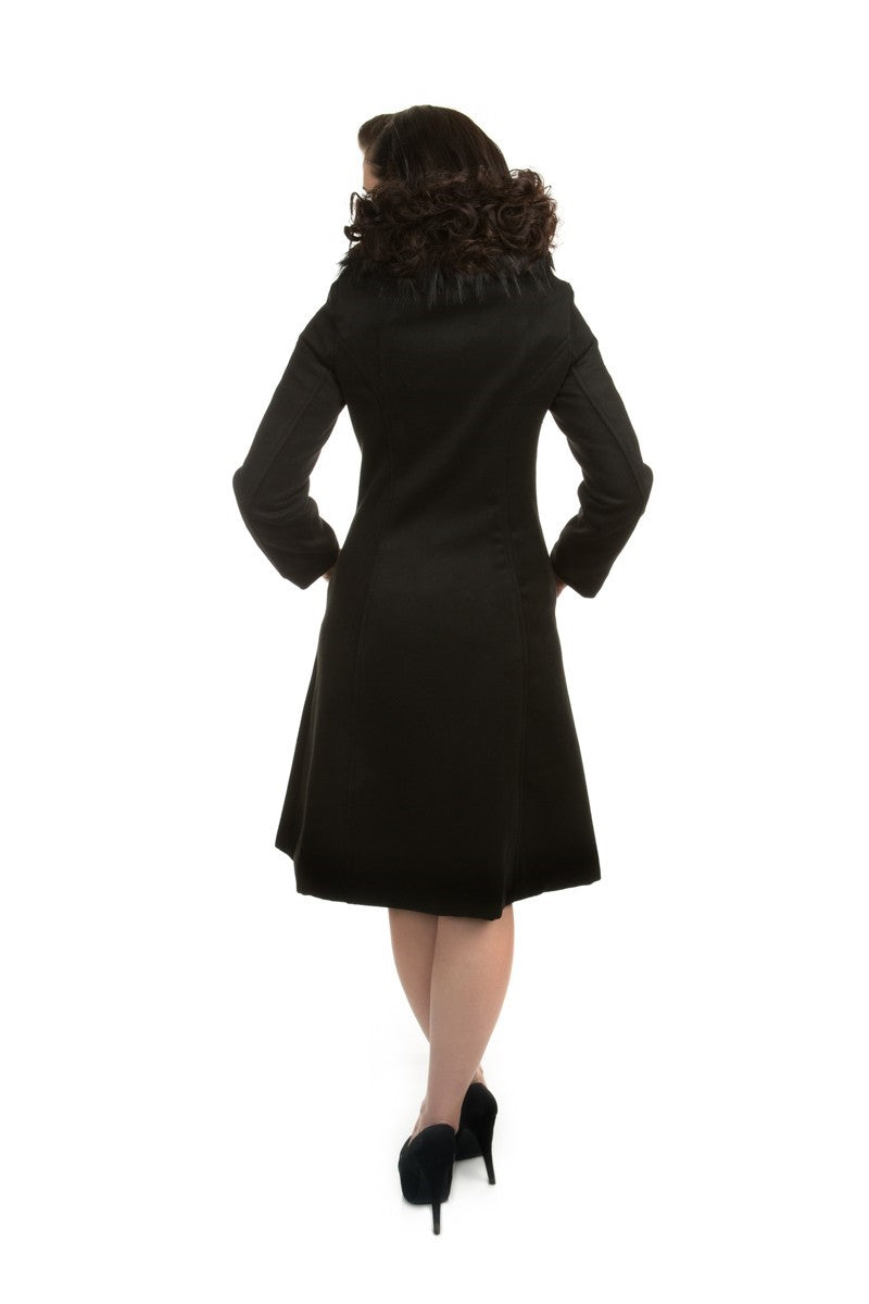 3874 Chrissette Coat in Black
