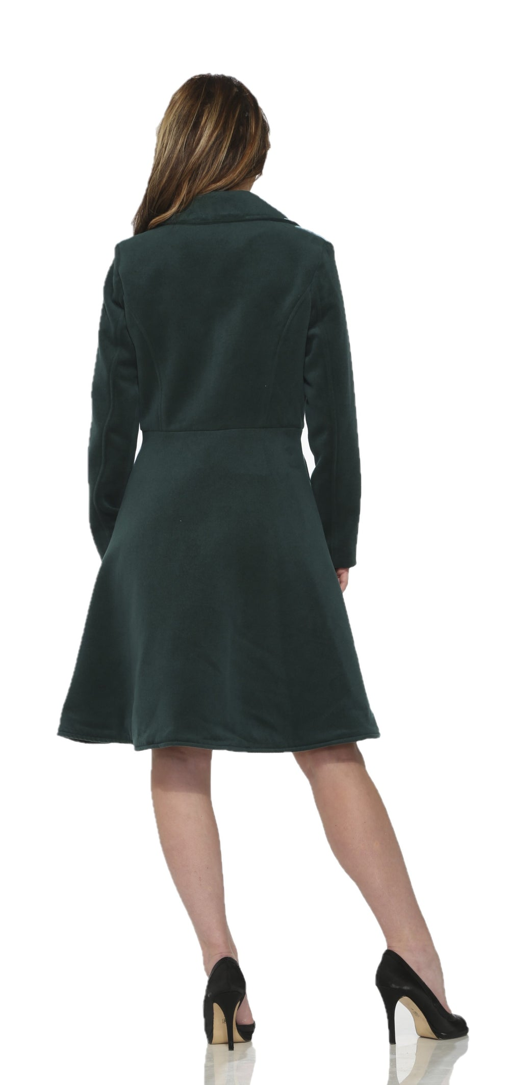4124 Katherine Coat in Forest Green