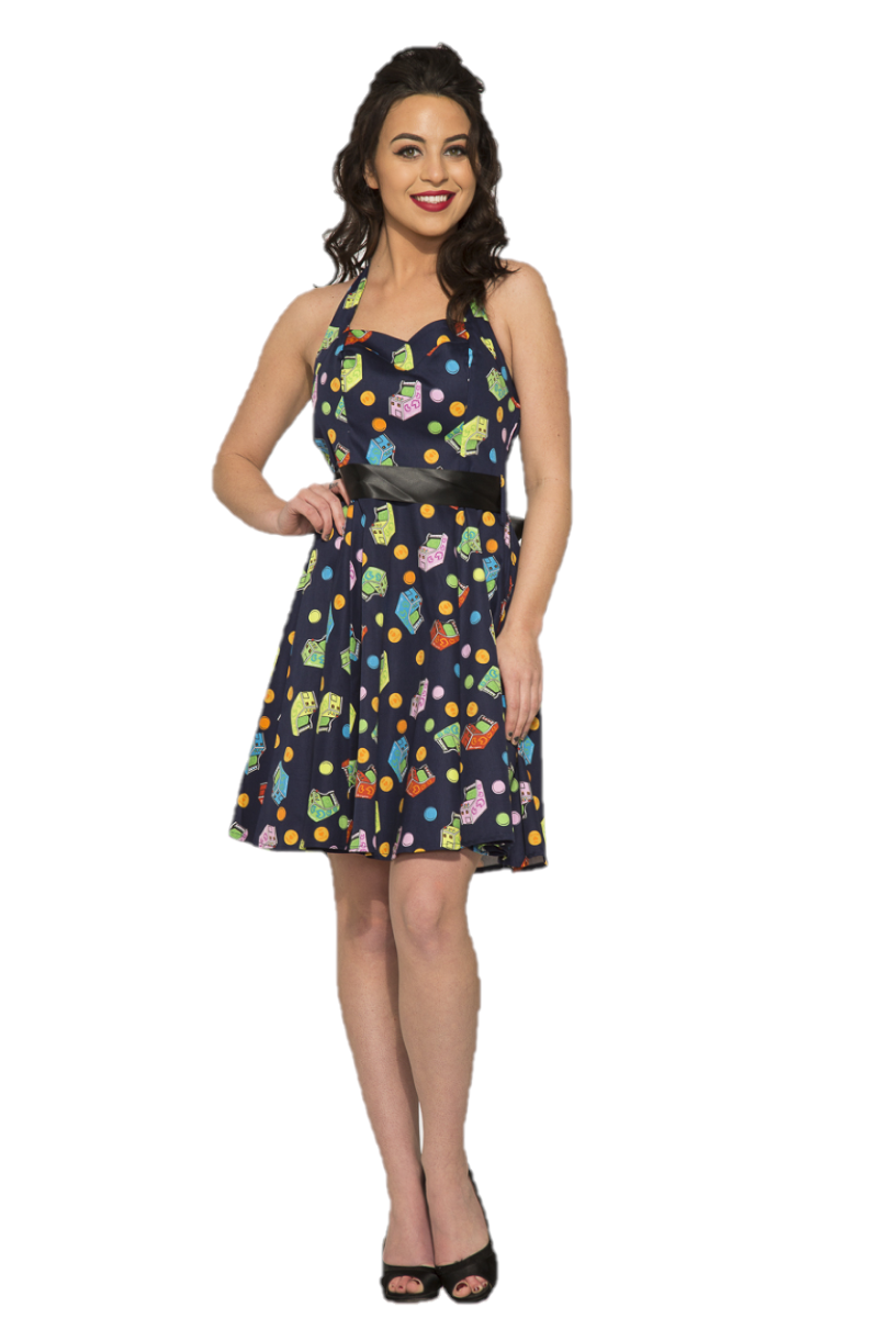 6376 Arcade Amusement Mini Dress