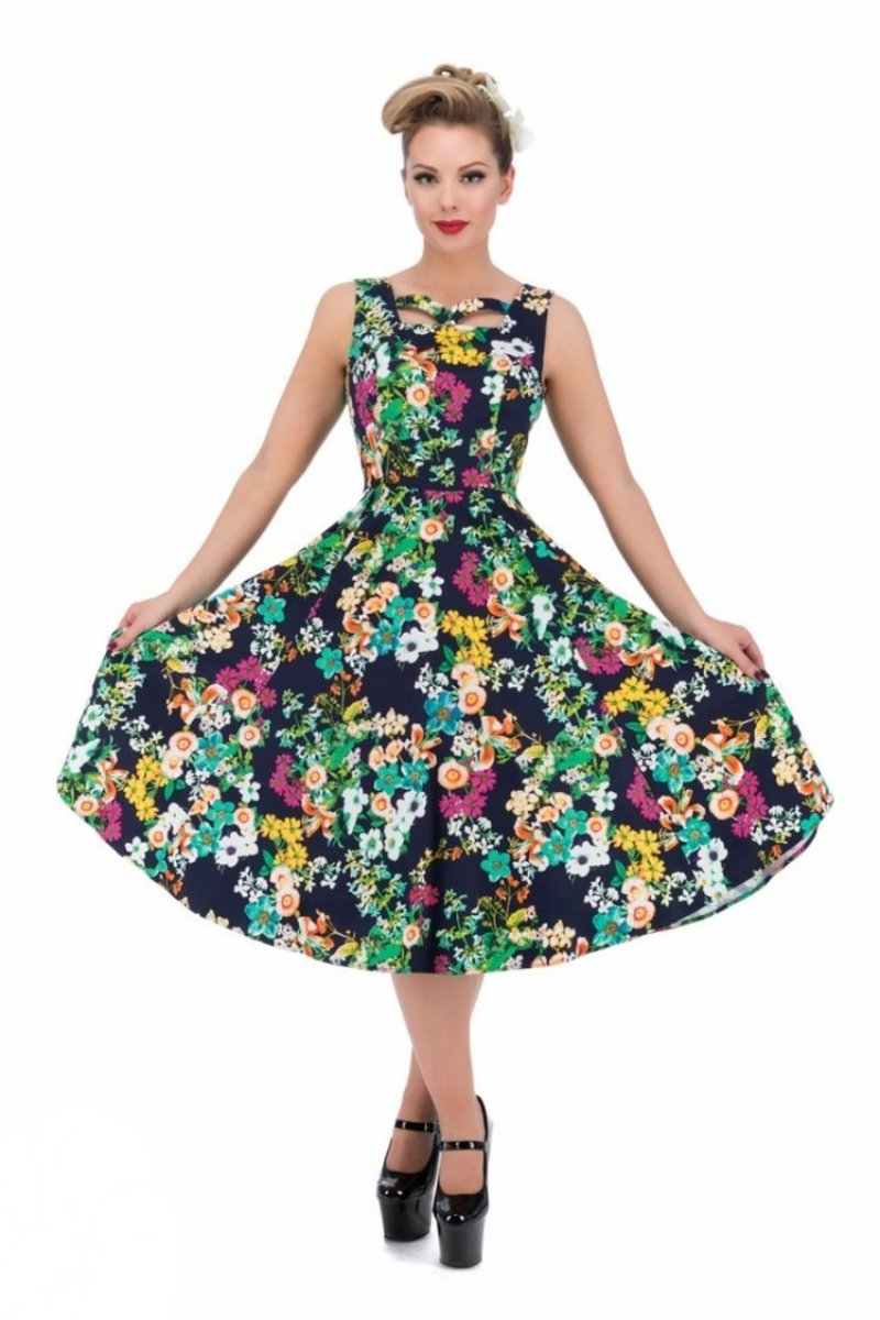 9867 Eternal Floral Day Dress