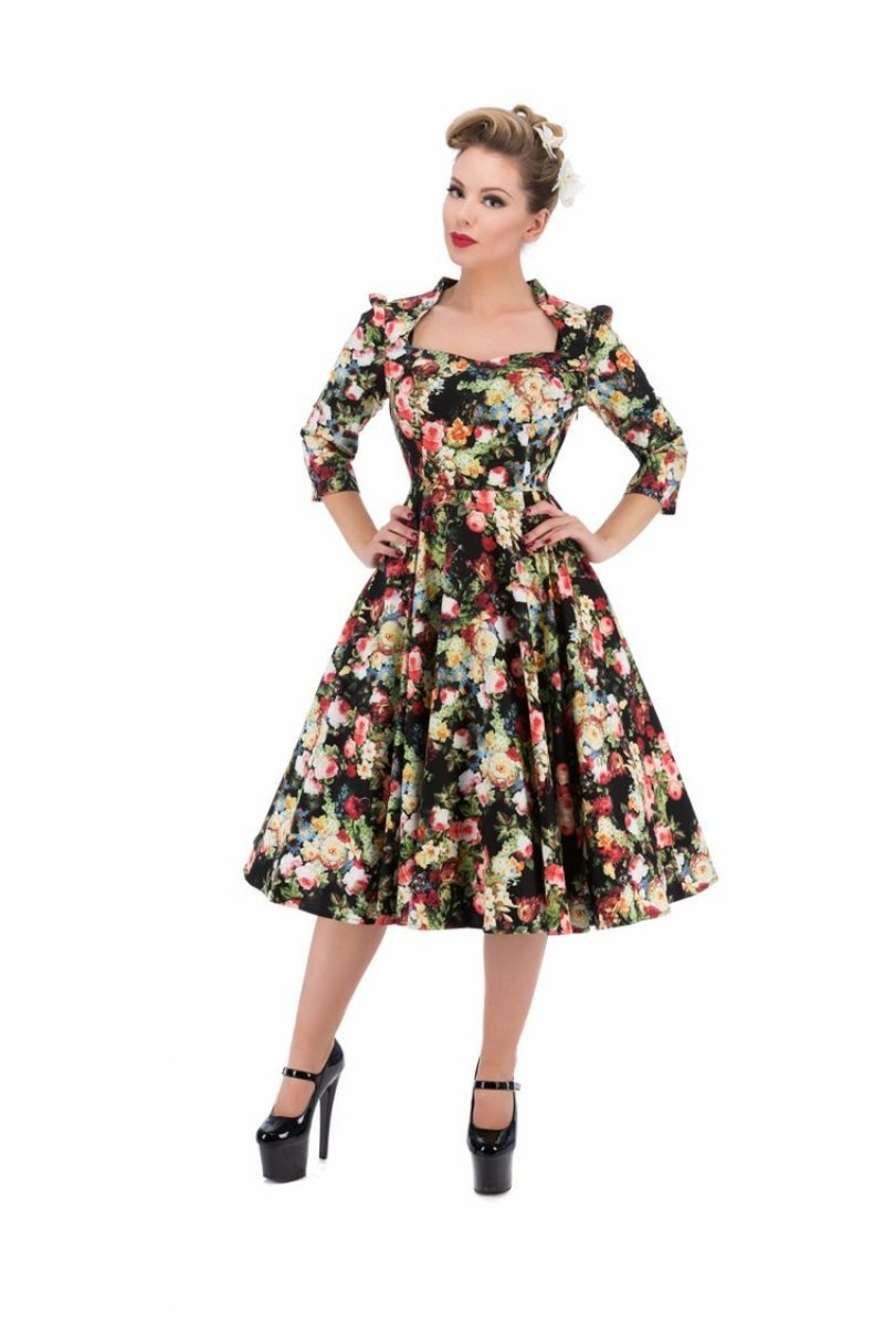 9945 Thorny Rose Swing Dress