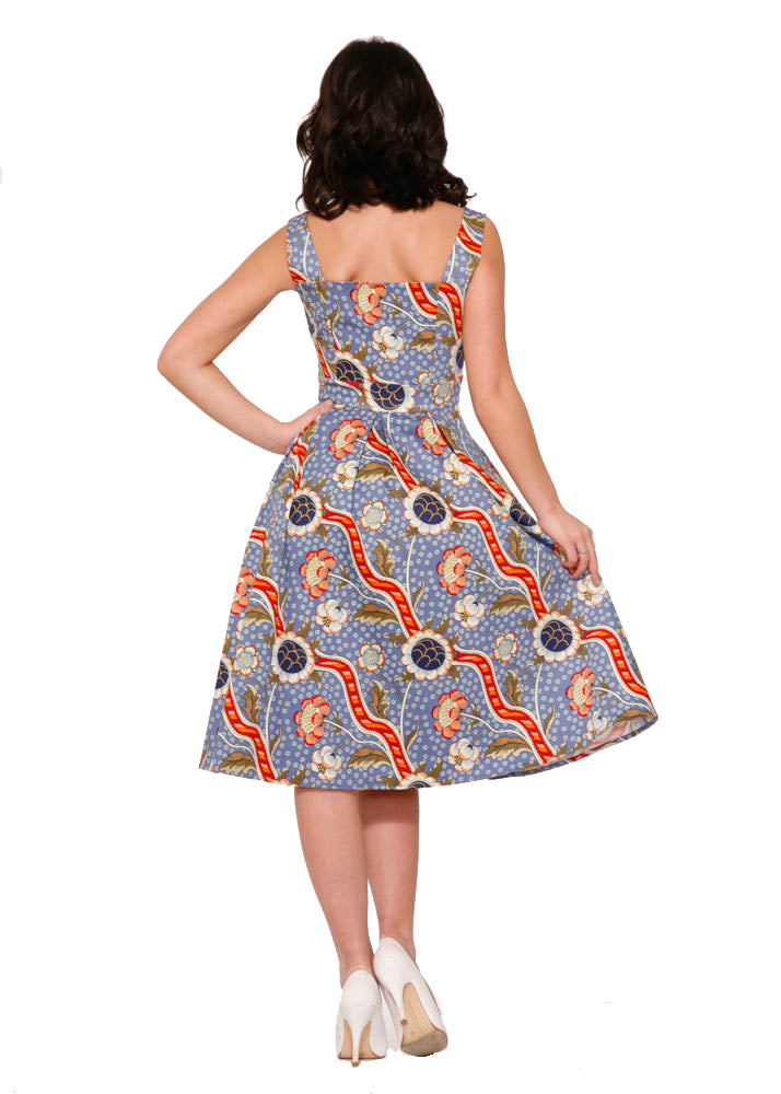 3179 Sunday Sunflowers Day Dress