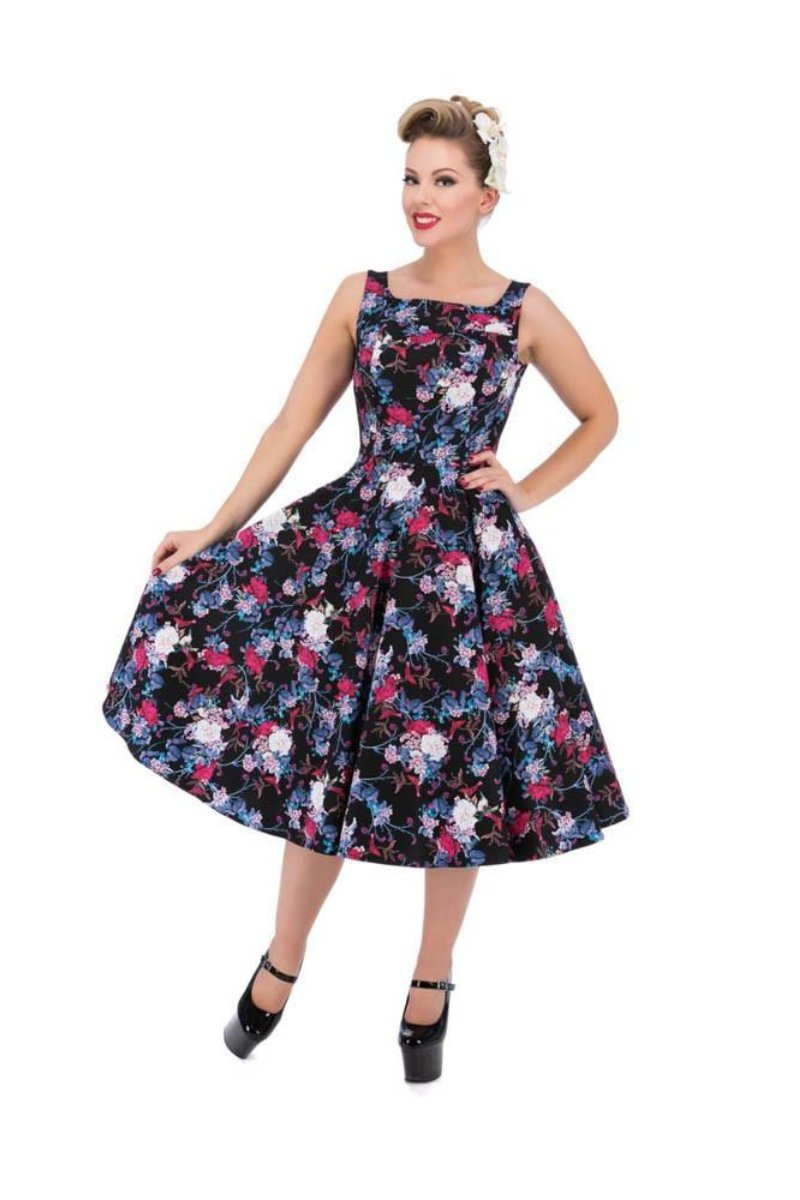 9969 Posie Floral Swing Dress