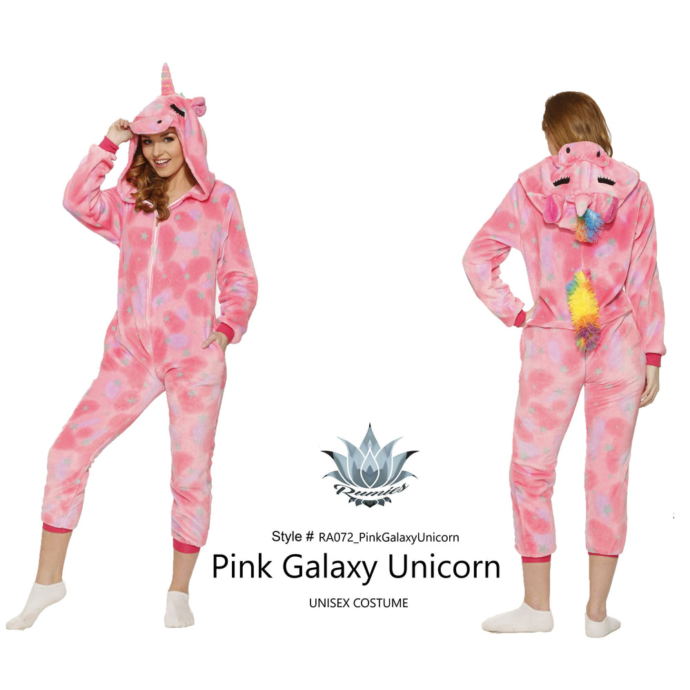 RA072 Pink Galaxy Unicorn