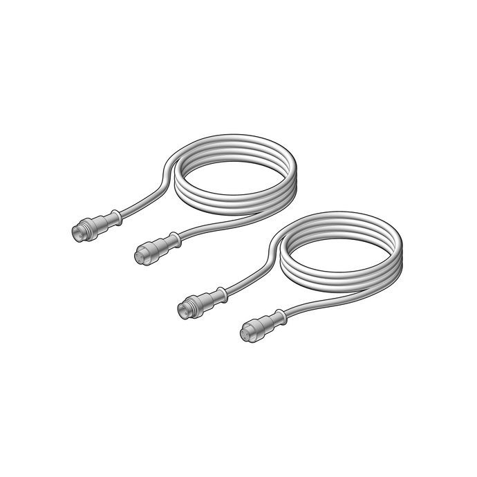 2x extension cables 1M
