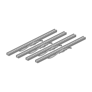 Set of 4 LED bars 0.5 meter