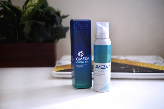 Relief from Itchy Rash With Use of Omeza Omega-3 Oil Spray