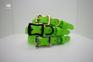 "Apple Green - Biothane 3/4"" Collar"