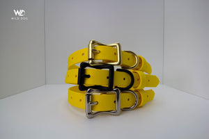 "Yellow - Biothane 3/4"" Collar"