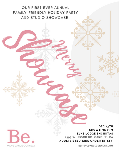 Holiday Showcase & Party Tickets