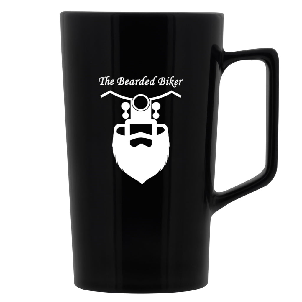 The Bearded Biker 20oz. XL Coffee Mug