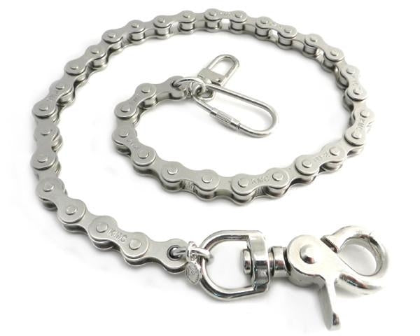 "18"" Bike Chain Wallet Chain (Nickle or Black)"