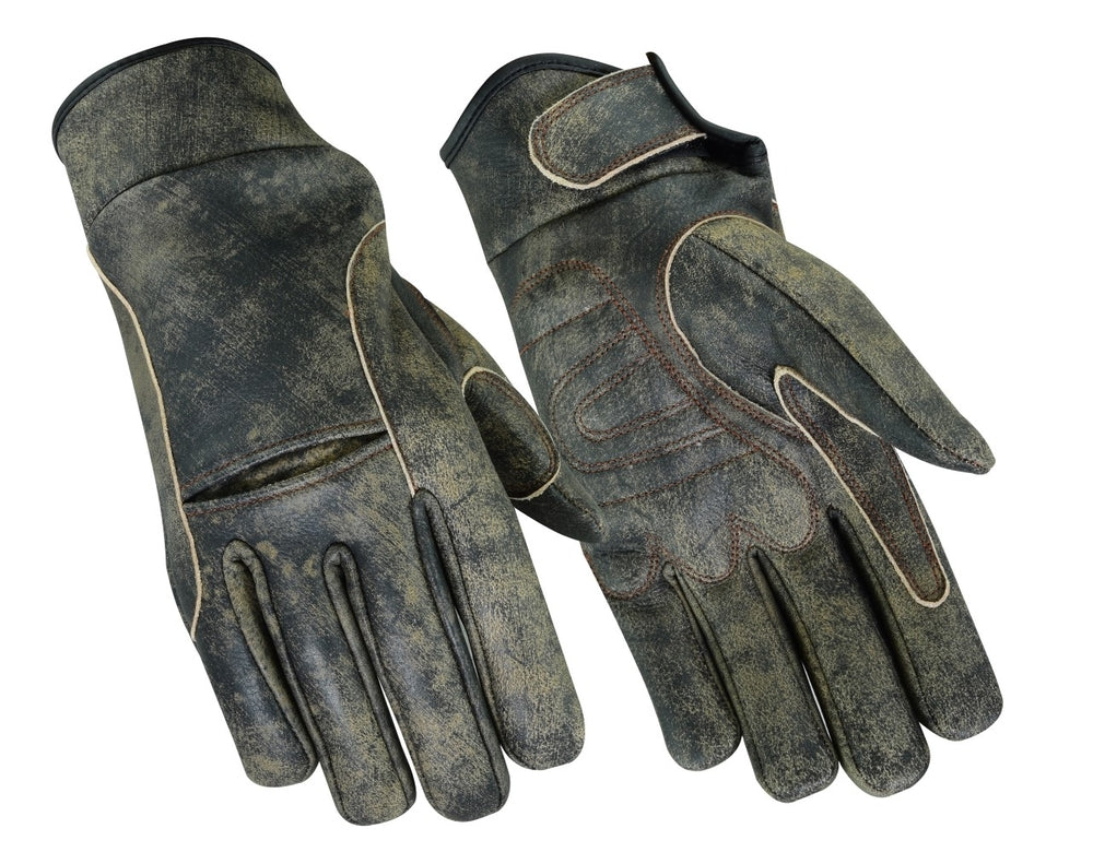 Men's Premium Antique Brown Cruiser Glove