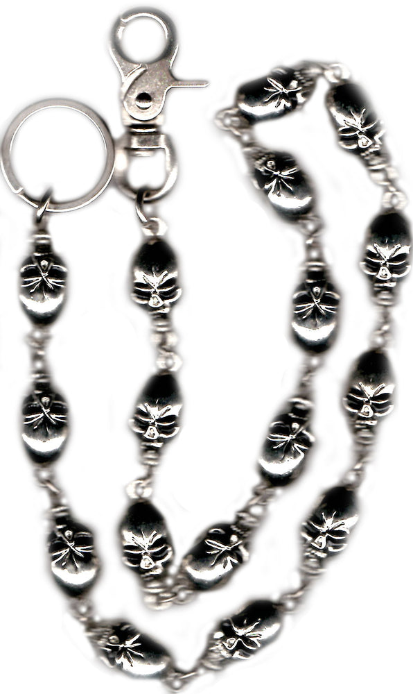 "31"" Large Skulls Wallet Chain"