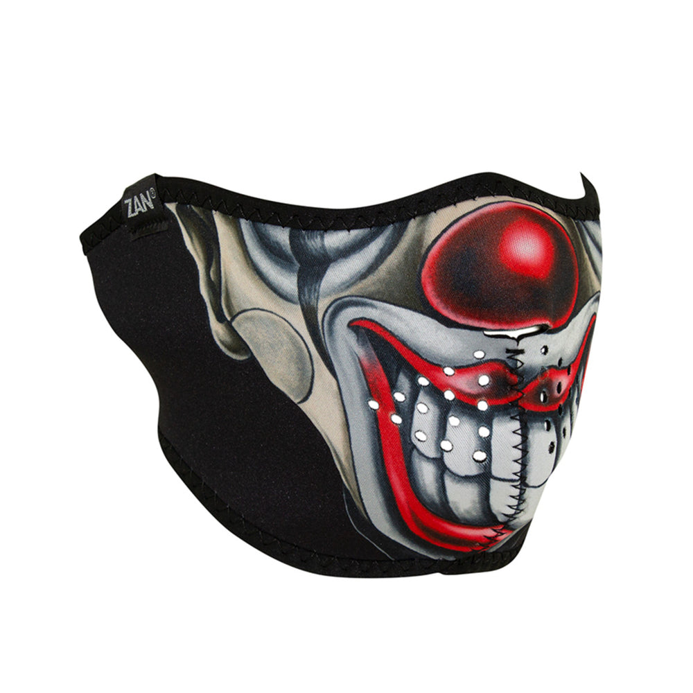 Half Neoprene Mask - Chicano Clown