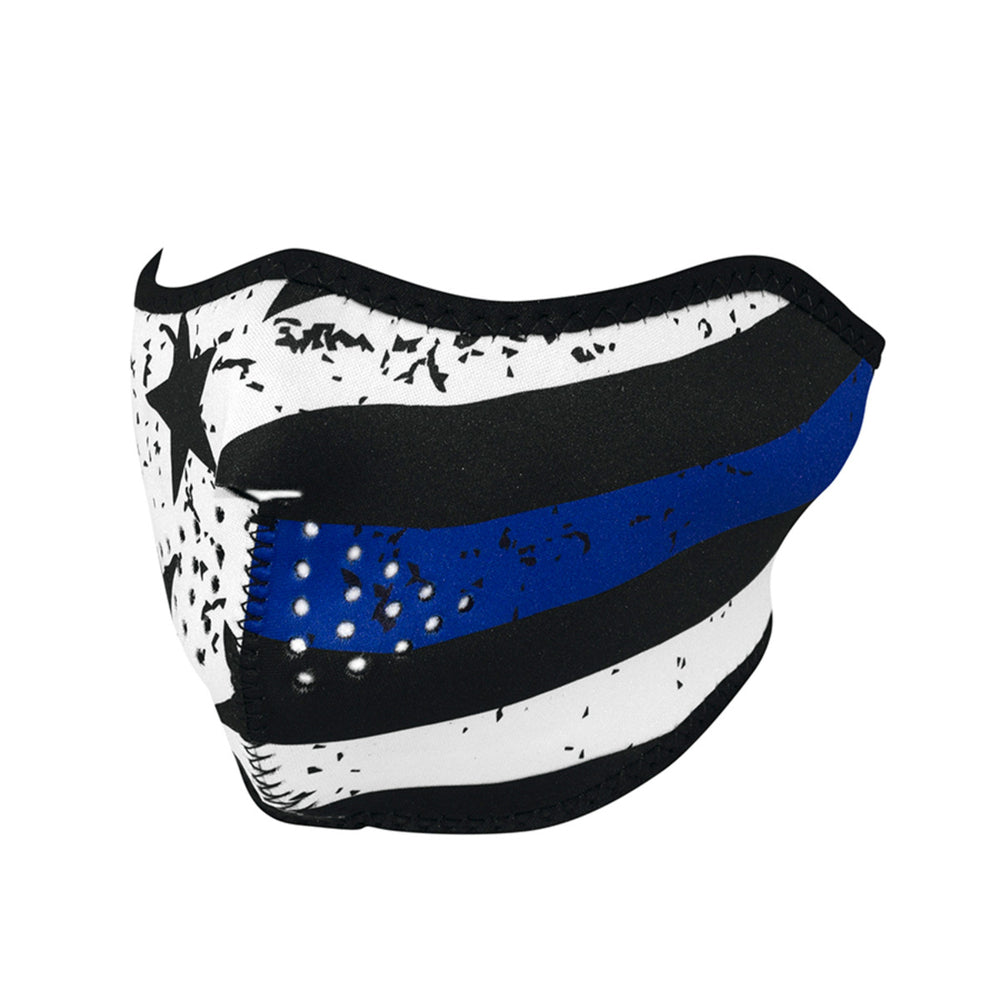 Half Neoprene Mask - Thin Blue Line