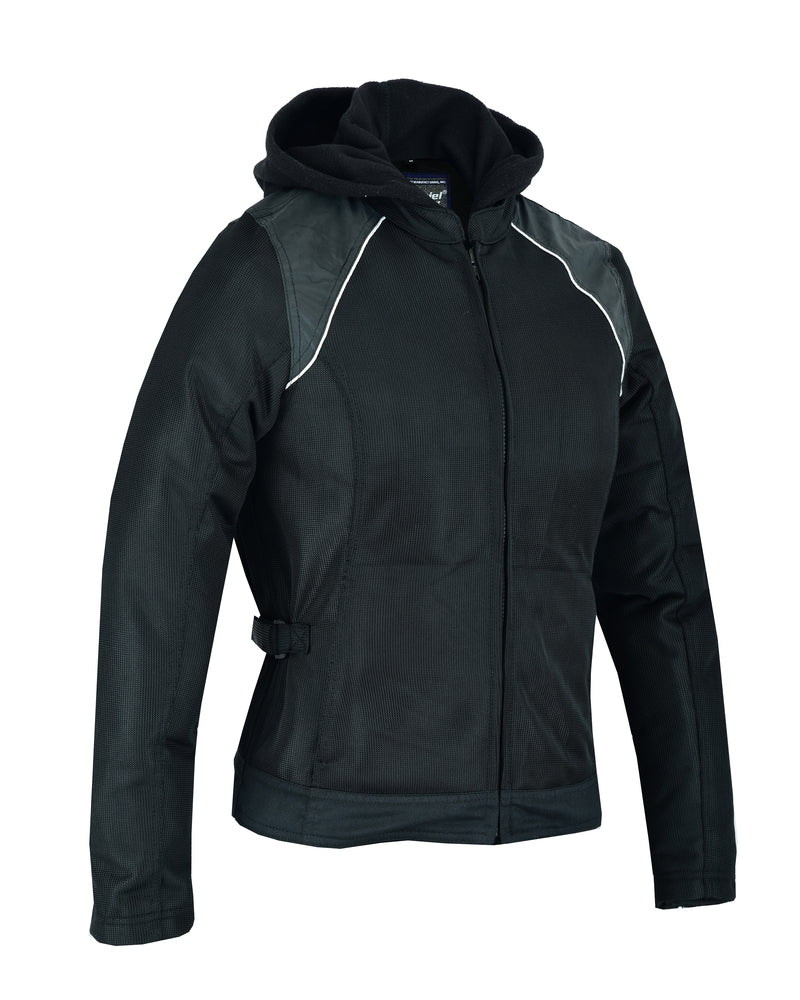 Women's Mesh 3-in-1 Riding Jacket Black/Black