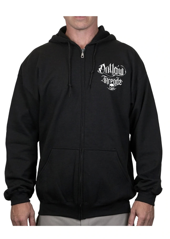 Men's Coffin Zipper Hoodie