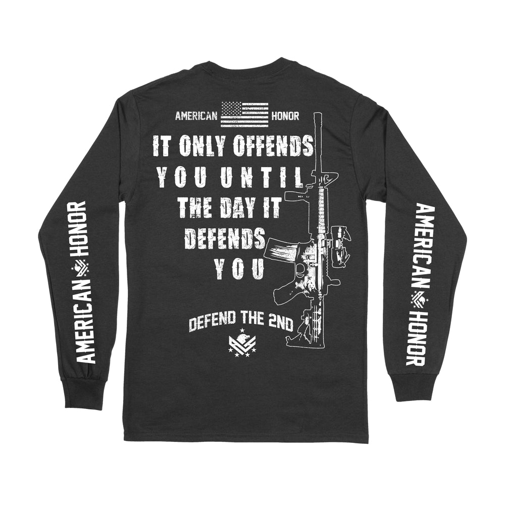 Men's Defend The 2nd Long Sleeve Shirt